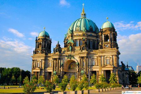 catedral en Berlín, Alemania